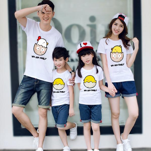 Áo thun cổ tròn in hình - phù hợp với mọi thành viên của gia đình
